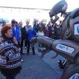 Робот Титан (Великобритания) развлекает посетителей площадки Live Site в Сочи